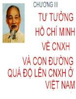Bài giảng Tư tưởng Hồ Chí Minh: Chương 3  GV. Hải Ngọc (ĐH Kinh tế TP.HCM)