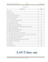Tiểu luận quản lý nhà nước về quản lý thuế