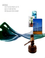 Bài giảng quản lý môi trường chương 2