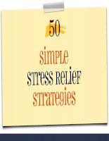 50 simple stress relief strategies