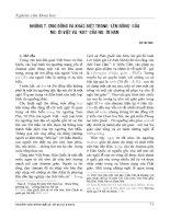 Những tương đồng và khác biệt trong lên đồng  của người việt và  kut  của người hàn