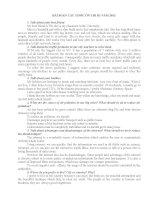 Tài liệu tiếng anh b1 năm 2013 (bài SOẠN 38 TOPIC ôn THI b1 năm 2013 học VIỆN HÀNH CHÍNH THEO đề CƯƠNG HƯỚNG dẫn của học VIỆN)