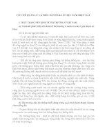 CƠ CHẾ QUẢN lý và điều HÀNH GIÁ ở VIỆ