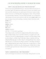 15 chủ đề nói b1 + 154 bài luận tham khảo ôn thi tiếng anh b1 (tiếng anh đầu ra cao học 2013)