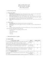 Đề cương ôn tập tuyển sinh cao học (môn tiếng anh) phần ngữ pháp + bài thi mẫu