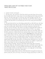 Hướng dẫn soạn bài : Tổng kết lịch sử văn học việt nam thời trung đại