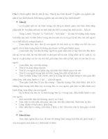 Đề cương 20 câu hỏi và hướng dẫn trả lời tâm lí và đạo đức kinh doanh FTU