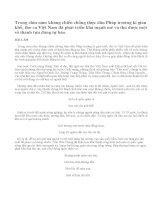 Người lính qua một số bài thơ tiêu biểu trong kháng chiến chống Pháp