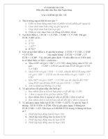 130 câu trắc nghiệm tài chính quốc tế có đáp án