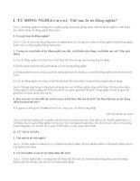 Soạn bài Tổng kết về từ vựng (tiếp theo)_bài 1