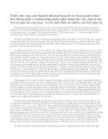 Phân tích tình cảm của cha con ông Sáu dành cho nhau trong truyện ngắn Chiếc lược ngà của Nguyễn Quang Sáng. Qua đó, em có suy nghĩ gì về đời sống tình cảm của những gia đình Việt Nam trong chiến tranh?