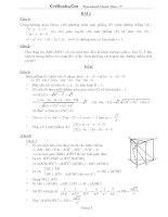 20 câu ôn tập hình học không gian   có lời giải chi tiết