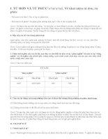 Soạn bài Tổng kết về từ vựng bài 2