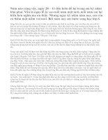 Ngày nhà giáo việt nam 20 – 11 qua lời văn của học sinh lớp 6