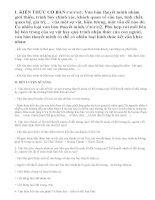 Các hình thức kết cấu của văn bản thuyết minh lớp 10