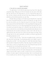 SKKN rèn kĩ năng viết đoạn mở bài trong bài văn nghị luận cho học sinh trung học phổ thông