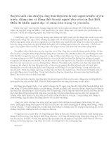 Tóm tắt cốt truyện của văn bản Chiếc lược ngà của Nguyễn Quang Sáng. Phát biểu cảm nghĩ của em về nhân vật ông Sáu trong truyện