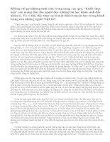 Phân tích tình cảm cha con của ông Sáu và bé Thu trong đoạn trích tác phẩm Chiếc lược ngà. Từ câu chuyện, em rút ra được cho mình bài học gì?