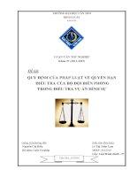 Quy định của pháp luật về quyền hạn điều tra của bộ đội biên phòng trong điều tra vụ án hình sự