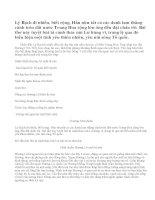 Cảm nhận bài thơ Xa ngắm thác núi Lư của Lý Bạch.