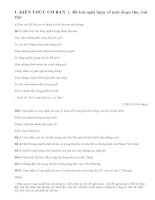 Cách làm bài văn nghị luận về một đoạn thơ, bài thơ