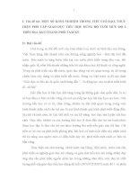 SKKN MỘT SỐ KINH NGHIỆM TRONG VIỆC CHỈ ĐẠO, THỰC HIỆN PHỔ CẬP GIÁO DỤC TIỂU HỌC ĐÚNG ĐỘ TUỔI MỨC ĐỘ 2 TRÊN ĐỊA BÀN THÀNH PHỐ TAM KỲ