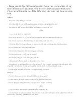 Đọc đoạn văn trả lời câu hỏi bài tâp 1,2 SGK trang 62