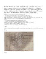 Luyện từ và câu: cách viết tên người, tên địa lí nước ngoài