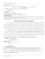 GIÁO án đề KIỂM TRA 15 PHÚT – năm học 2012 2013 môn TIN 10