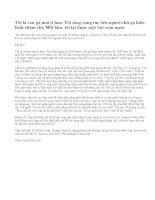 Em đã được đọc truyện ngụ ngôn Gà mái đẻ trứng vàng (L.Tônxtôi). Hãy viết lại câu chuyện đó theo lời kể của một trong hai nhân vật (người chủ, con Gà mái)