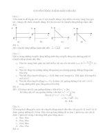 Đề kiểm tra trắc nghiệm vật lý lớp 10   chuyển động thẳng biến đổi đều