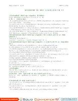 So sánh nhiệt độ sôi của các hợp chất hữu cơ