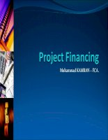 Project financing  1