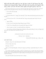 Luyện tập làm đơn bài tập 1,2 SGK tiếng việt 5 trang 111 - 112
