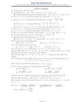 Tuyển tập 270 bài tập nâng cao môn toán lớp 9, bồi dưỡng học sinh khá giỏi
