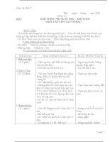 Giáo án thể dục lớp 2 soạn theo chương trình VNEN