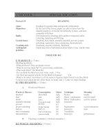 giáo án tiếng anh lớp 10 (unit 4   reading)