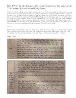 Luyện từ và câu: luyện tập viết tên người, tên địa lí Việt Nam