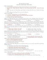 66 câu hỏi trắc nghiệm ôn tập chương 1 vật lý lớp 10