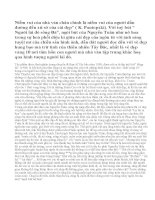 """Hình tượng người lái đò trong tuỳ bút """"Người lái đò sông Đà"""" của Nguyễn Tuân"""