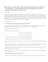Hãy phân tích hình ảnh thiên nhiên trong bài thơ Trang Giang của Huy Cận