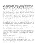 Phân tích bài thơ Tây Tiến – Quang Dũng