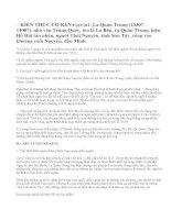 Soạn bài Hồi trống cổ thành (Trích hồi 28 – Tam quốc diễn nghĩa)