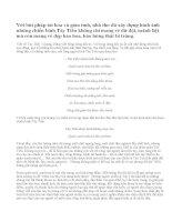 Cảm nhận về đoạn thơ sau trong bài Tây Tiến của Quang Dũng: Tây Tiến đoàn binh không mọc tóc…Sông Mã gầm lên khúc độc hành.Tây Tiến - Quang Dũng