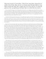 Vai trò của yếu tố thần kì trong truyện Tấm Cám