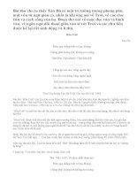 Cảm nghĩ về bài thơ Hầu Trời của thi sĩ Tản Đà.