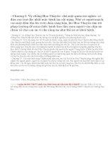 Tóm tắt truyện ngắn Thuốc của Lỗ Tấn