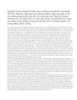 Phân tích hình tượng cây xà nu trong truyện ngắn Rừng Xà Nu của Nguyễn Trung Thành. Nhận xét ngắn gọn về nghệ thuật miêu tả cây xà nu của nhà văn