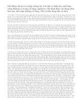 Phân tích nhân vật Chí Phèo qua truyện ngắn Chí Phèo của nhà văn Nam Cao