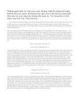 Phân tích bài thơ Tây Tiến của Quang Dũng. (Đề thi chọn lọc học sinh Giỏi lớp 12 toàn quốc năm học 1991 - 1992)
